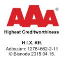 Magyarország legmegbízhatóbb cégei között üdvözölhetjük a H.I.X. Kft.-t